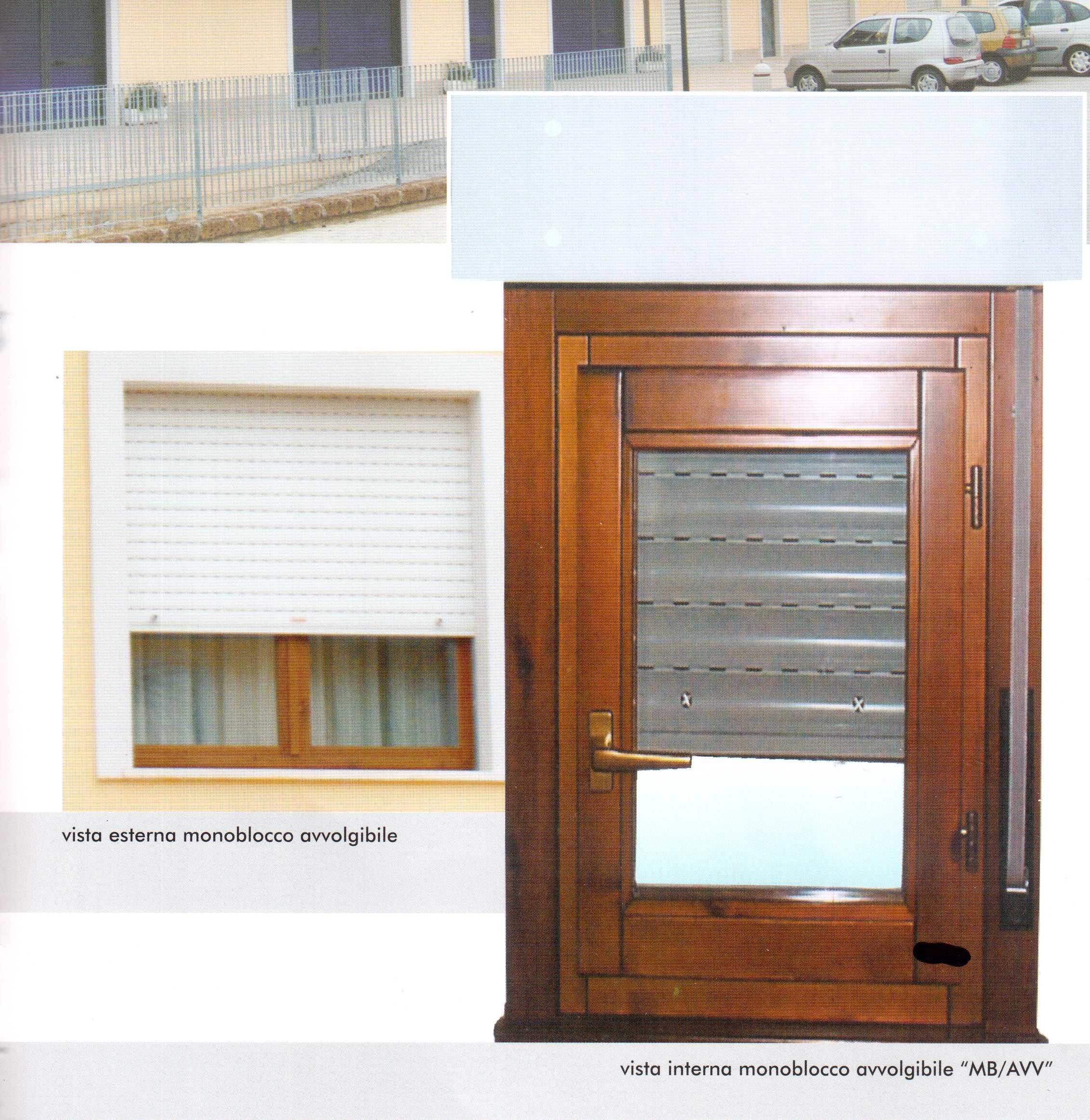 Omega infissi monoblocco con tapparella - Finestre monoblocco in legno ...